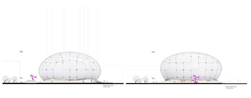 Robotic Science Museum Seoul Melike Altinisik Architects elevations