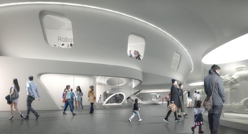 Robotic Science Museum Seoul Melike Altinisik Architects interior 1