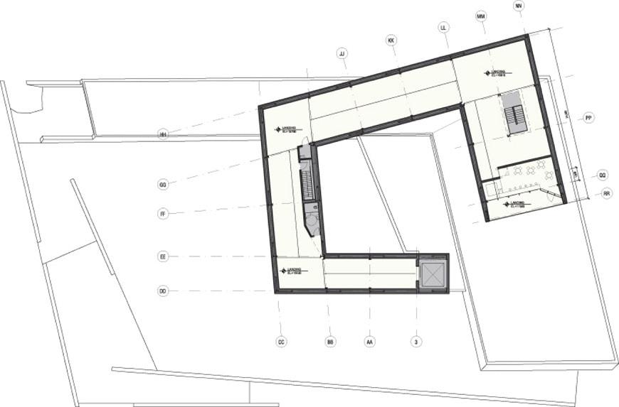 Sifang Art Museum Nanjing Steven Holl 1st floor plan