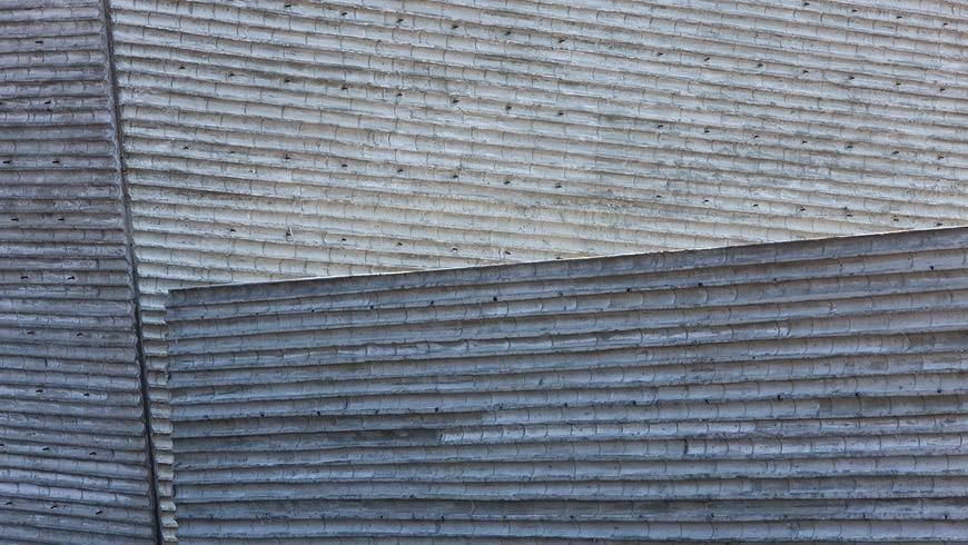 Sifang Art Museum Nanjing Steven Holl concrete bamboo wall
