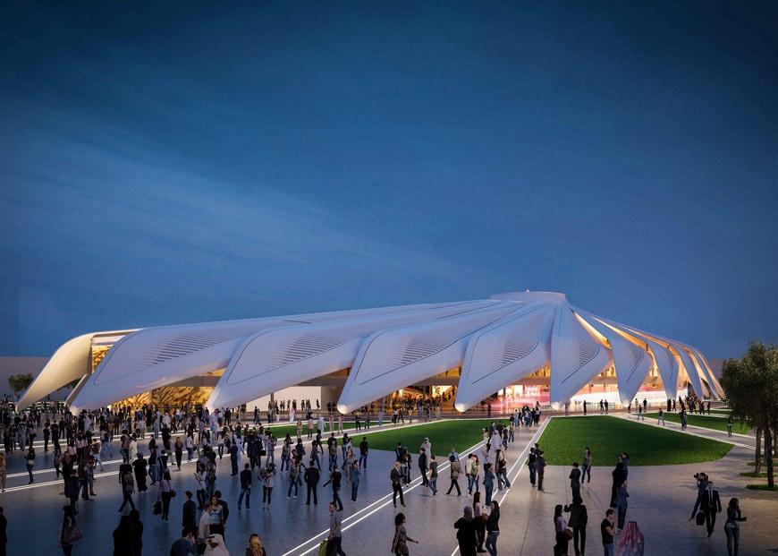UAE United Arab Emirates pavilion EXPO Dubai 2020 Santiago Calatrava
