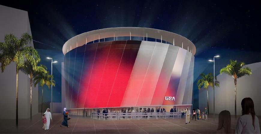 United States pavilion EXPO Dubai 2020 Fentress Architects