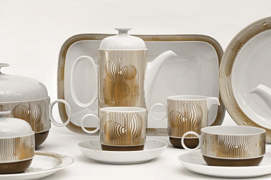 Victor-Vasarely-Ambrogio-Pozzi-porcelain-table-service-exhibition-centre-pompidou