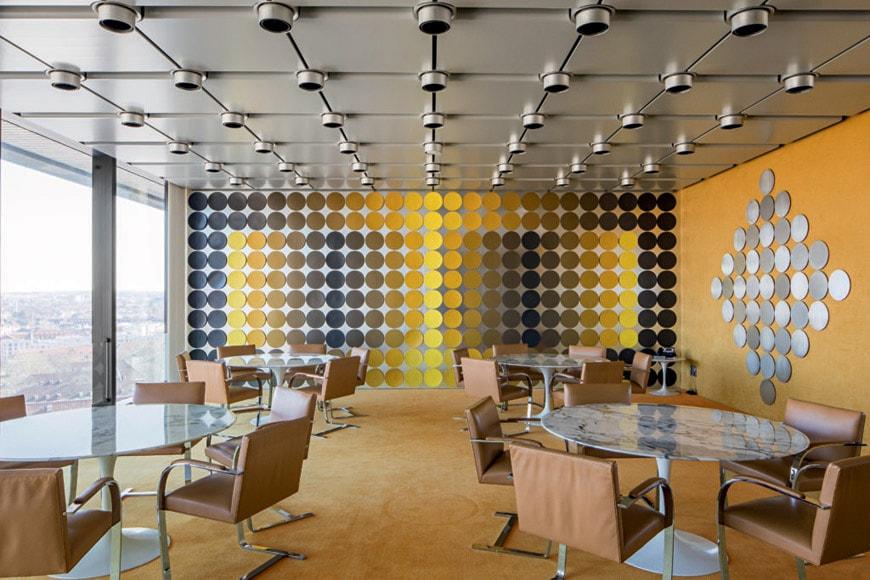 Victor-Vasarely-dining-room-frankfurt-am-main-exhibition-centre-pompidou
