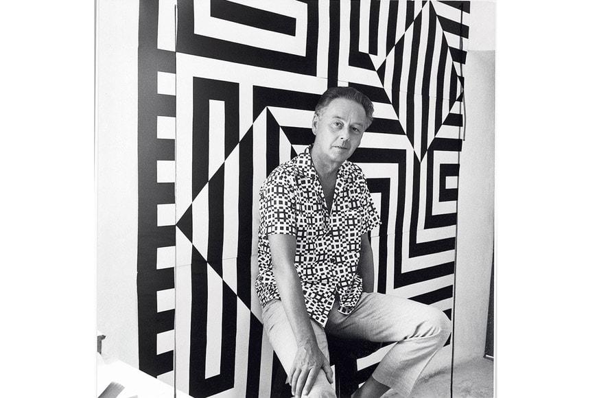 Victor-Vasarely-portrait-exhibition-Centre-Pompidou-Paris