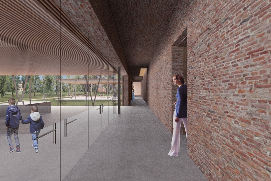 Villa Emma Jewish children museum Nonantola Satoshi Okada architects 2