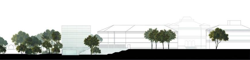 Bauhaus Museum Weimar Heike Hanada elevation 1