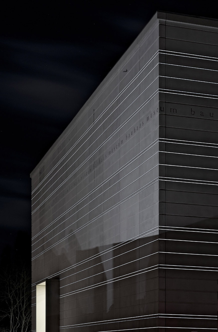 Bauhaus Museum Weimar Heike Hanada facade LED lighting 1