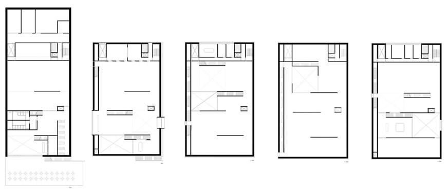 Bauhaus Museum Weimar Heike Hanada floor plans