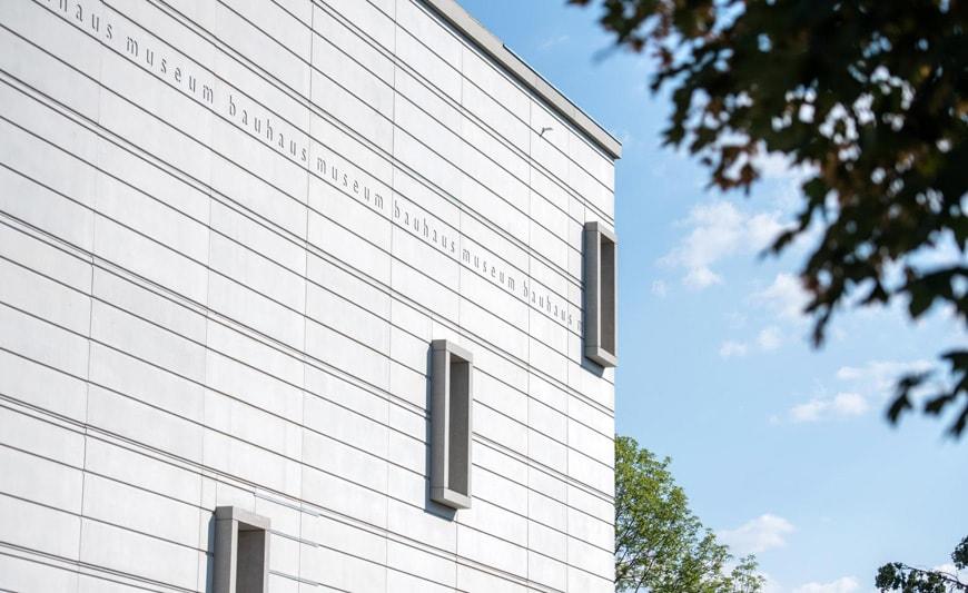 Bauhaus Museum Weimar Heike Hanada frosted glass facade