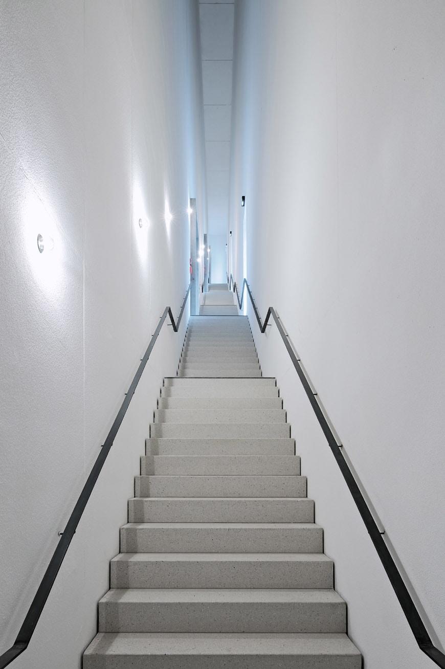 Bauhaus Museum Weimar Heike Hanada stairway