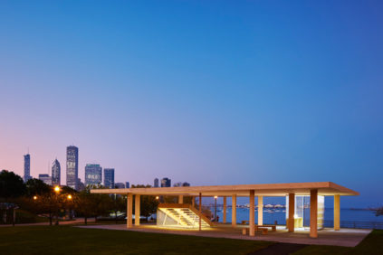 Chicago Horizon CLT timber pavilion Ultramoderne 03
