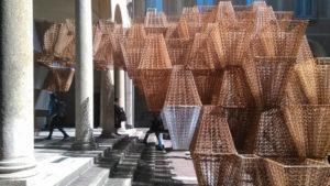 Conifera 3D-printed bioplastics installation COS+ Mamou-Mani2019 Milan Design Week Inexhibit 4