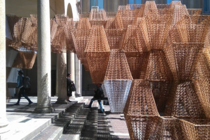 "Milan Design Week 2019 | COS + Mamou-Mani present ""Conifera"" 3D-printed installation"