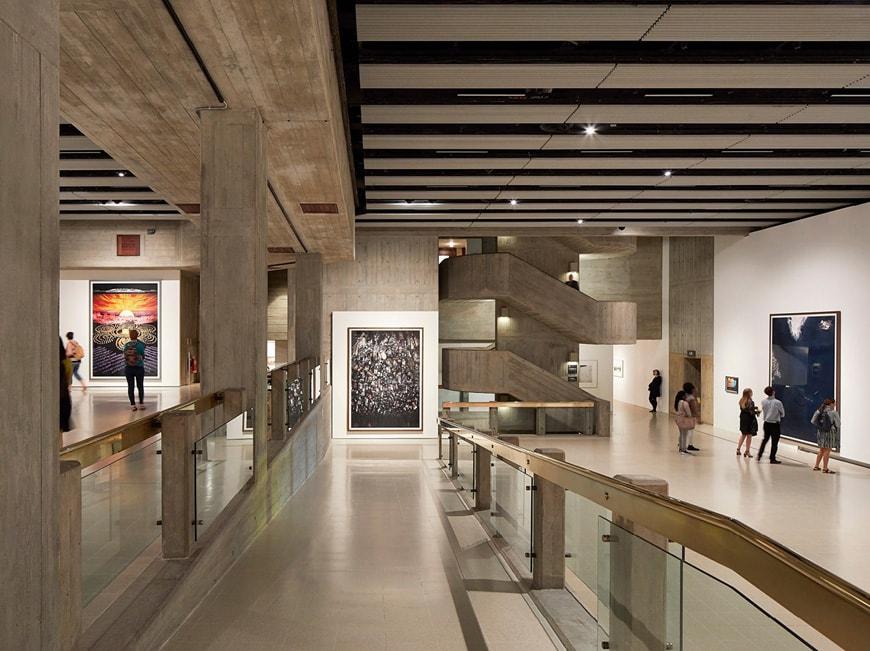 Hayward Gallery London Feilden Clegg Bradley Studios Brutalist architecture 1