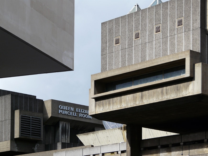 Hayward Gallery Southbank Centre London Brutalist architecture 3