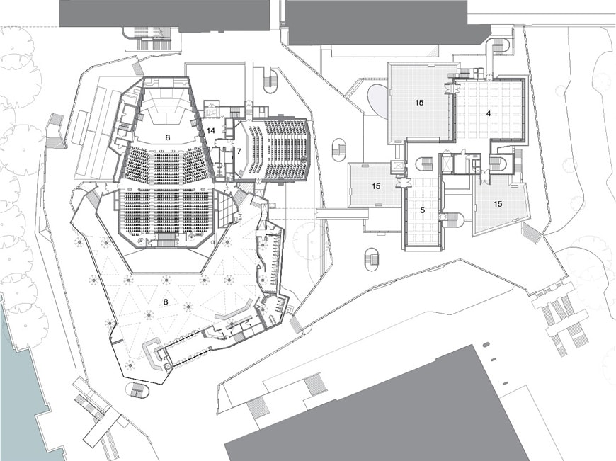 Hayward Gallery Southbank Centre London plan 2