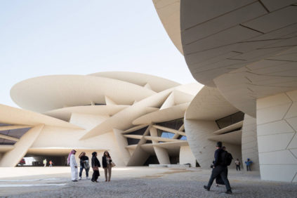 National Museum of Qatar (architect: Jean Nouvel)