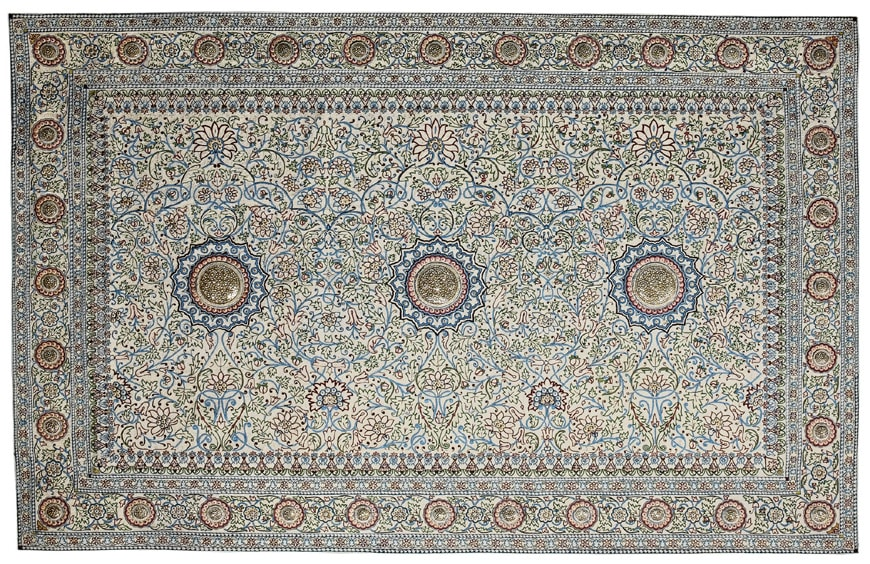 National Museum of Qatar Doha Pearl Carpet of Baroda