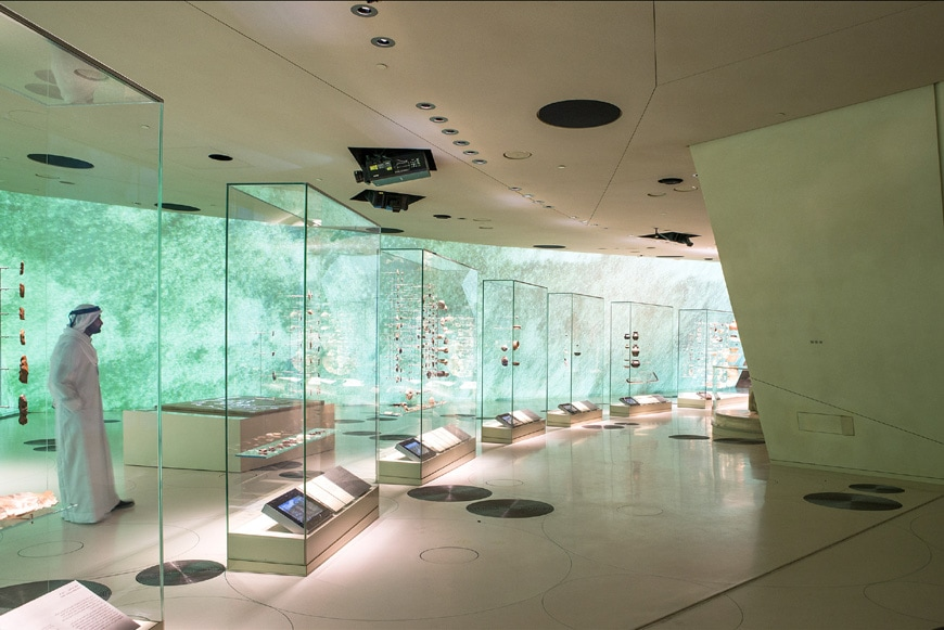 National Museum of Qatar Doha interior 4