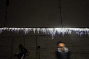 Satoshi Yoshiizumi TAKT PROJECT glow-grow installation Milan Design Week 2019 Inexhibit 2