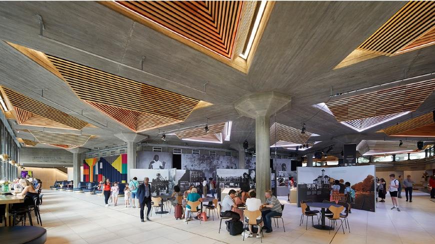 Southbank Centre London Feilden Clegg Bradley Studios Brutalist architecture 2