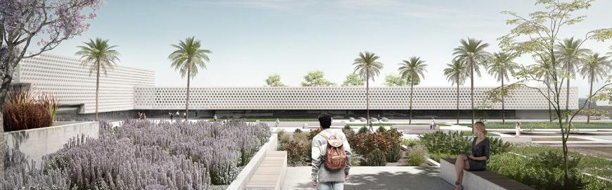 Il progetto di Vaillo+Irigaray per la Facoltà di Turismo dell'Univesità di Malaga