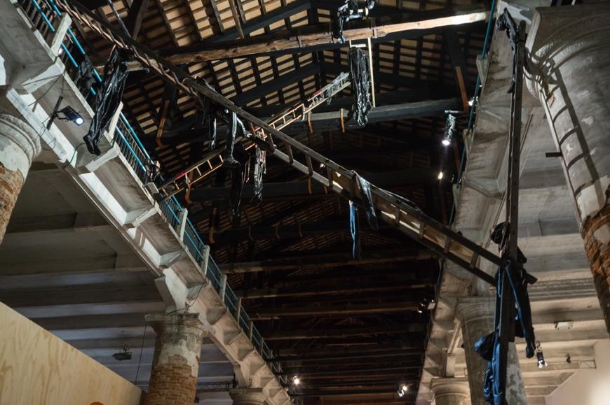 Alexandra Bircken, Exkalation, Venice Art Biennale 2019 Inexhibit 2