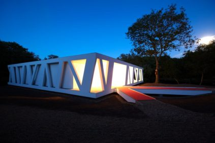 Henning-Larsen-Videbaek-pavilion-exterior-view-night-photo-Shubert