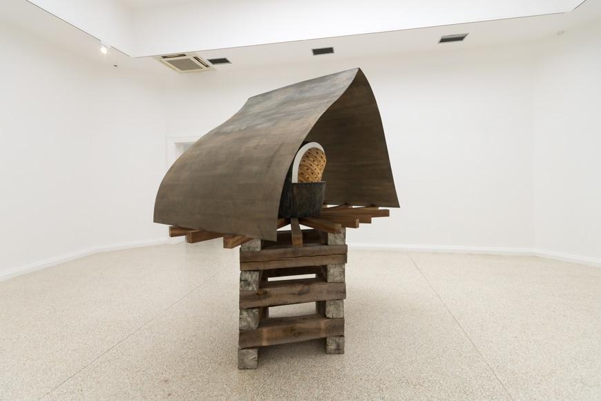Martin Puryear, Cloistrer-Redoubt or Cloistered Doubt, 2019, United States Pavilion, Venice Art Biennale 2019 Inexhibit