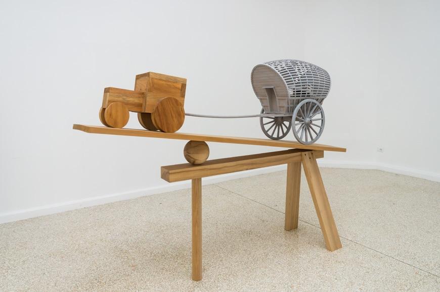 Martin Puryear, New Voortrekker, 2018, United States Pavilion, Venice Art Biennale 2019 Inexhibit