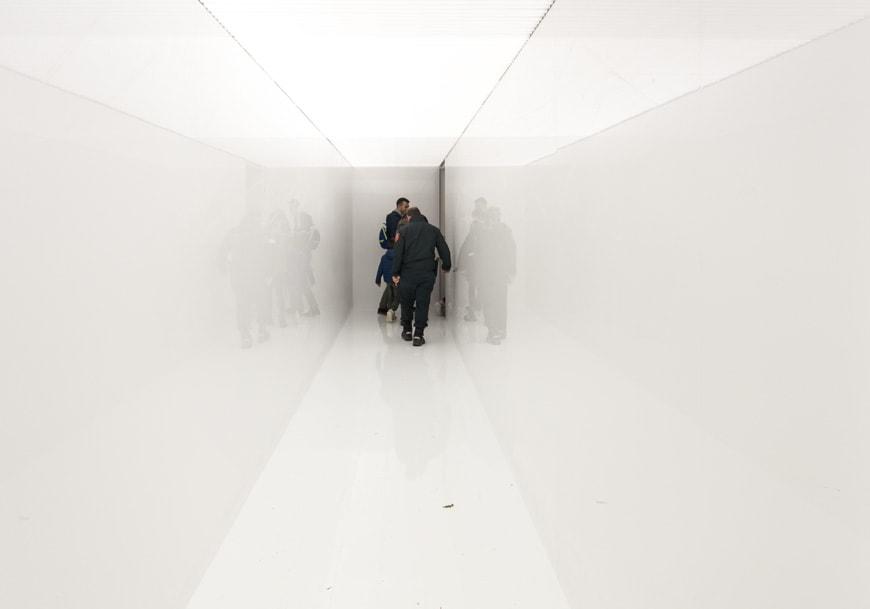 Ryoji Ikeda, Spectra III, installation, Giardini exhibition, 58th Venice Art Biennale 2019 Inexhibit
