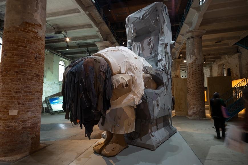 Yin Xiuzhen - Trojan - Venice Art Biennale 2019 Inexhibit