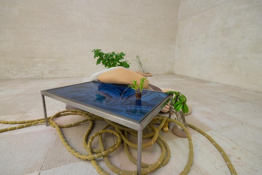 nabbteeri, Compost installation, Nordic pavilion, 58th Venice Art Biennale 2019 2 Inexhibit