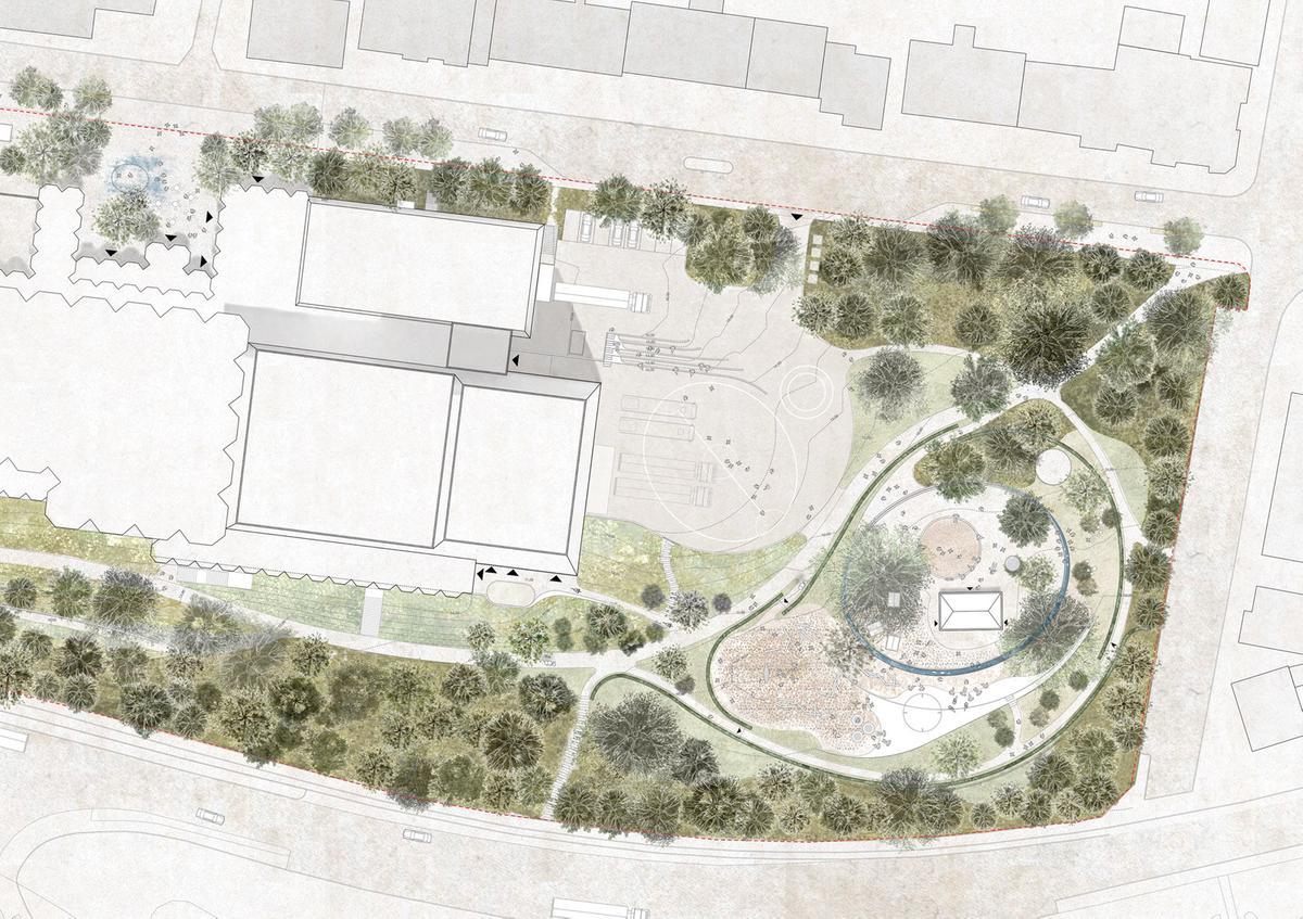 HenningLarsen-EsbjergBypark-Playground-Plan