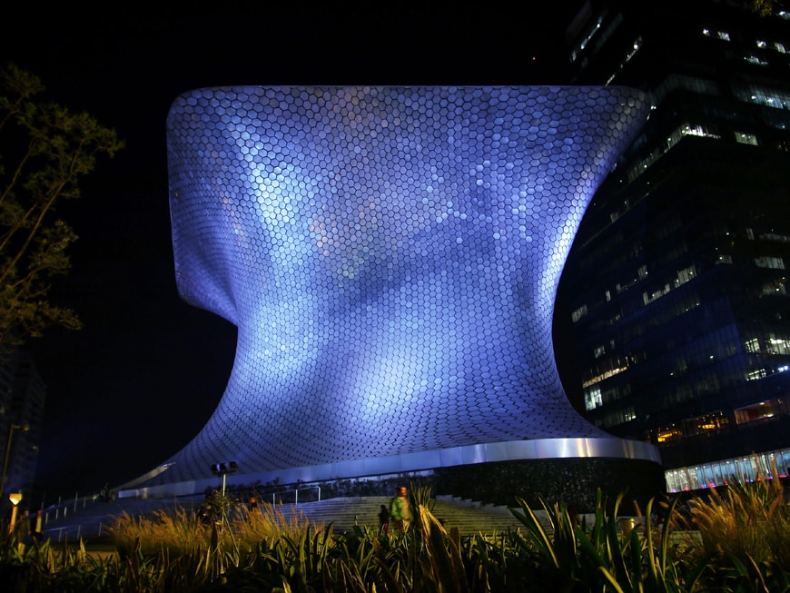Museo Soumaya Plaza Carso Mexico City 02