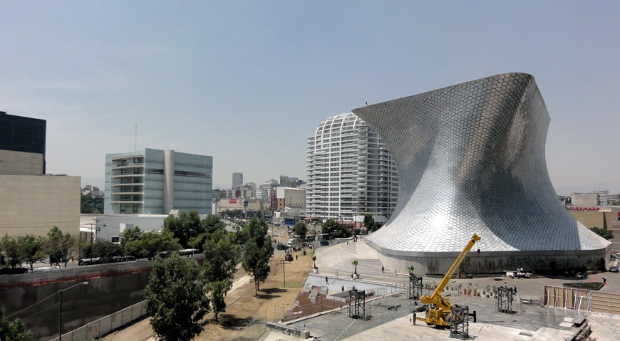 Museo Soumaya Plaza Carso Mexico City 03