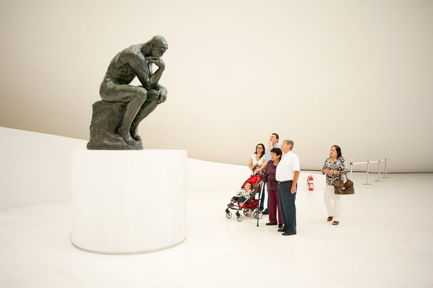 Museo-Soumaya-Plaza-Carso-Mexico-City-Auguste-Rodin-The-Thinker