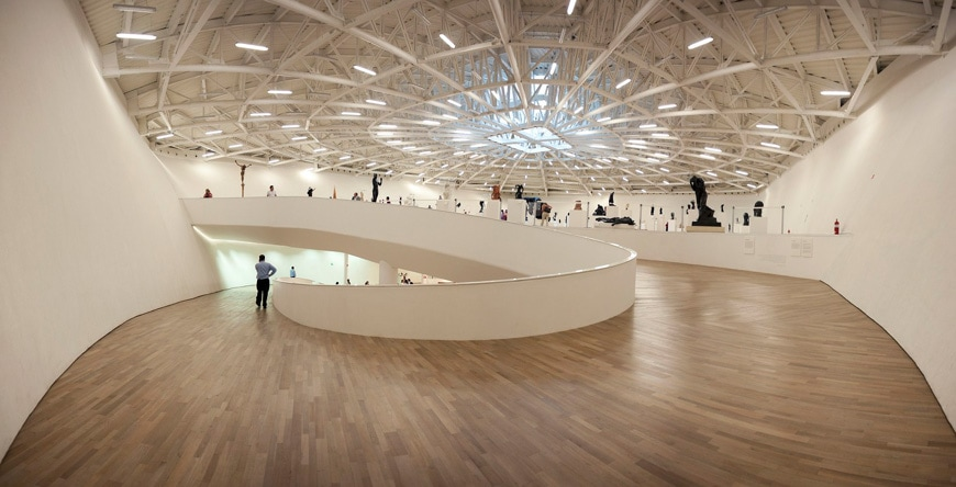 Museo-Soumaya-Plaza-Carso-Mexico-City-top-floor-gallery