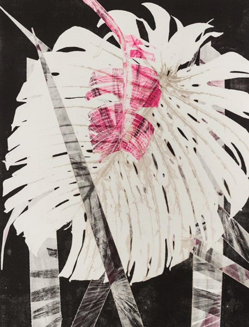Fondation-Cartier-Paris-Exhibition-Trees-Luiz-Zerbini-philodendron