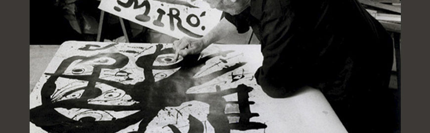 L'opera grafica di Joan Mirò alla Fondation Maeght di Saint Paul de Vence