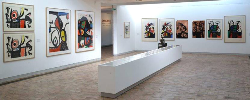 Fondation-Maeght-S-Paul-de-Vence-Mirò-installation-view