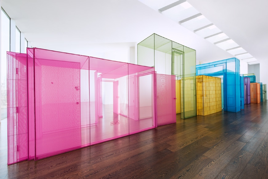 Chicago Architecture Biennial 2019, Do Ho Suh, Passages, installation view