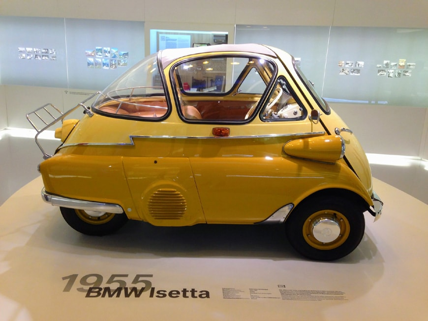 BMW Isetta microcar 1955 04