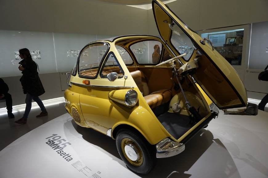 BMW Isetta microcar 1955 07
