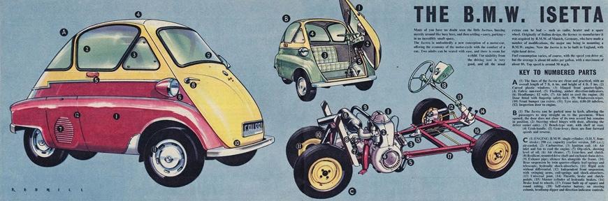 BMW Isetta microcar 1955 09