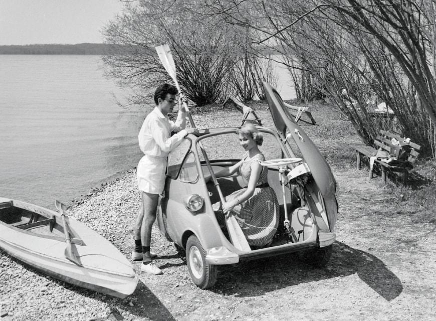 BMW Isetta microcar 1955 10