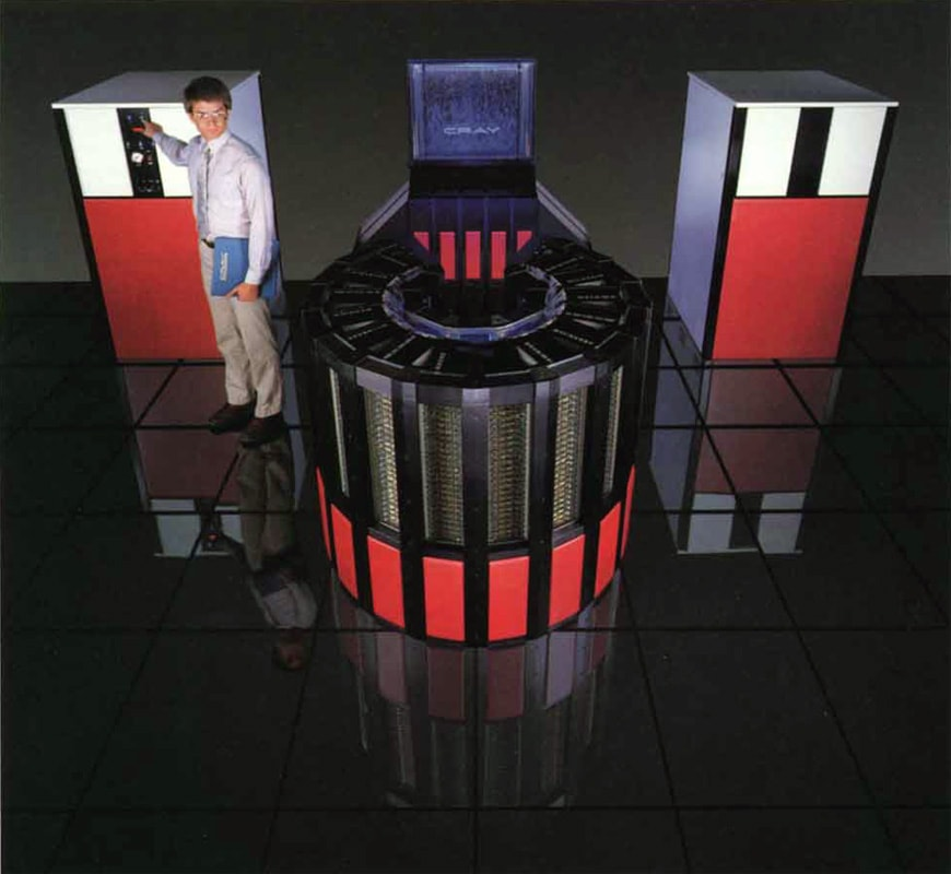Cray-2 supercomputer 1985