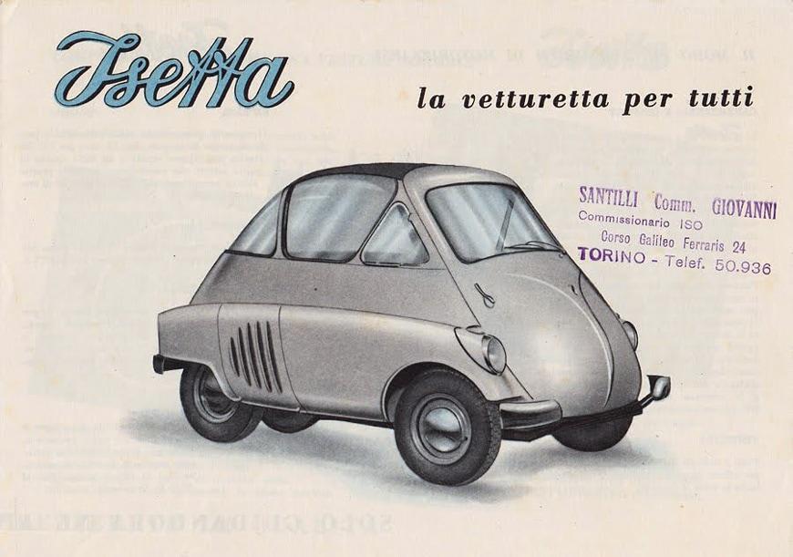 Iso Rivolta Isetta microcar 1953 2