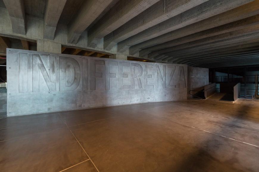 Memoriale Shoah Milano Holocaust Memorial Milan Inexhibit 06s